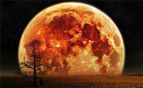 two supermoons in one month