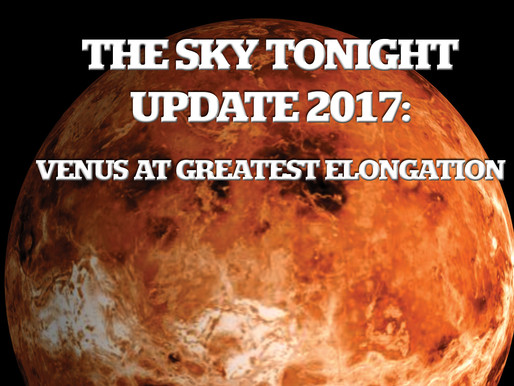 The Sky Tonight Update – Jan. 12, Venus at Greatest Eastern Elongation