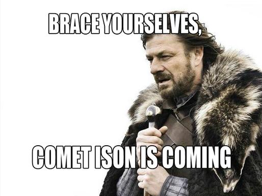Comet ISON is Coming!