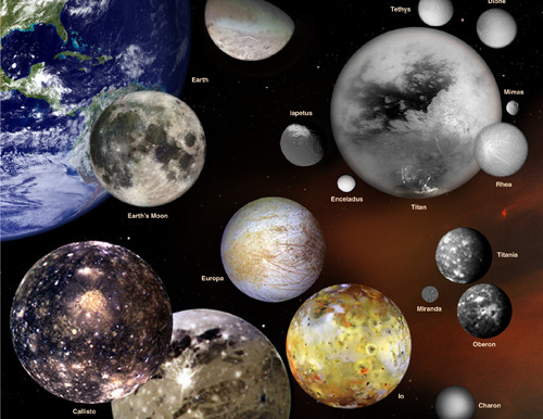 Ten Facts About Our Solar System's Moons