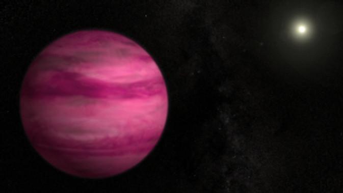 Pink Planet  GJ 504b
