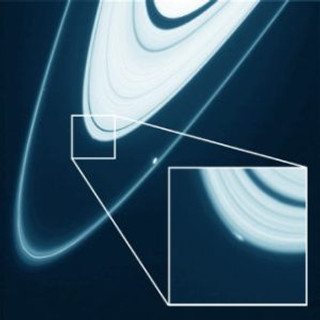 New Moon forming in Saturn's rings