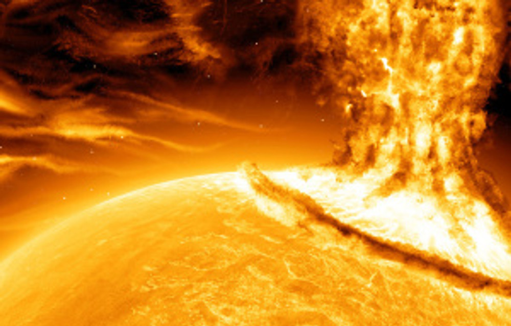 Solar Flare will hit earth