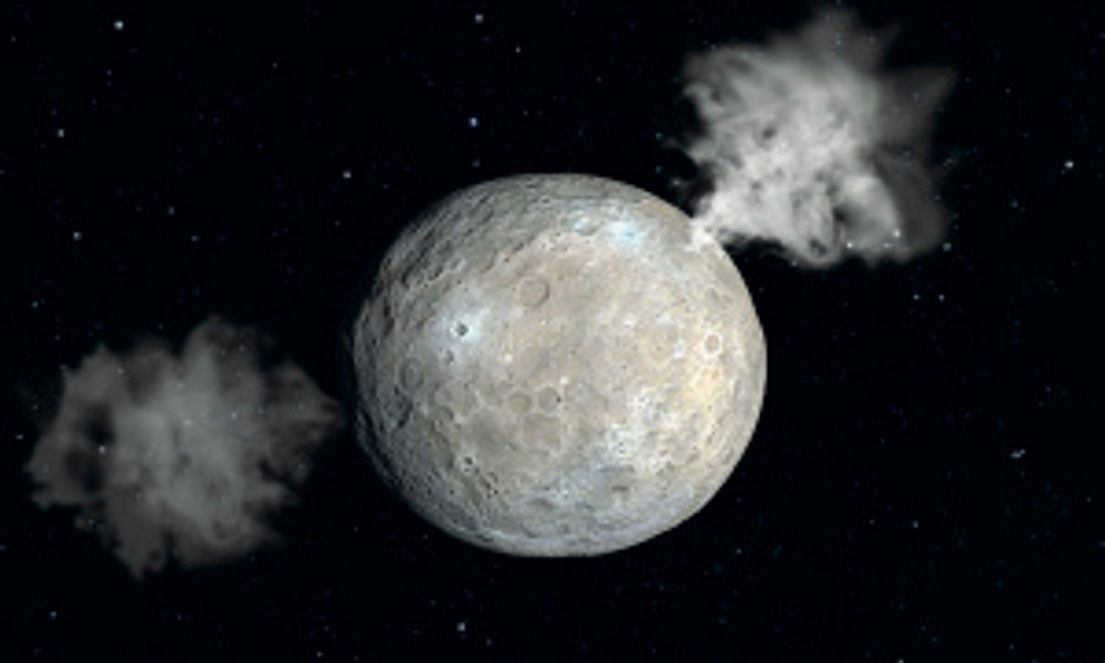 water found on ceres
