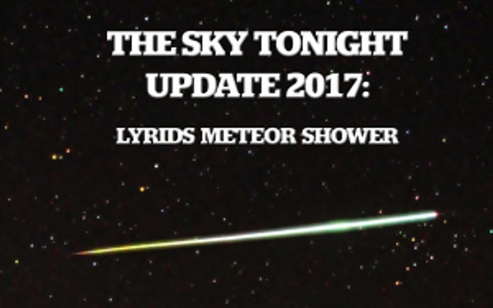 Lyrids Meteor Shower