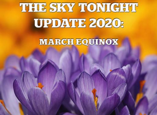 The Sky Tonight Update: March Equinox