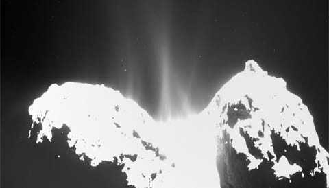 Water on Comet 67p Is like Nothing on Earth