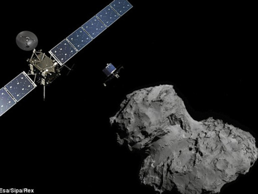 Bumpty Bump Bump From Comet 67P/Churyumov-Gerasimenko