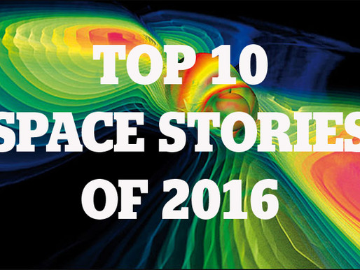 Top 10 Space Stories of 2016