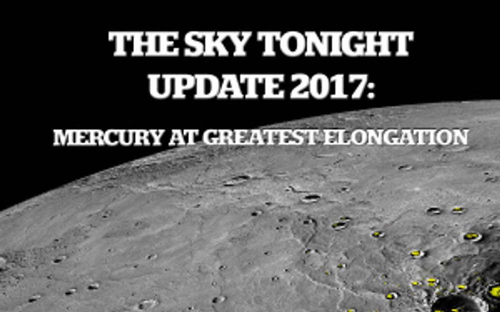 Mercury elongation