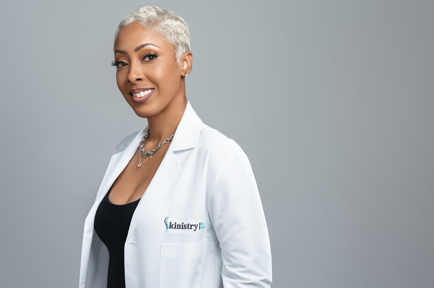 Simone Gibson, Medical Esthetician and Founder of Skinistry Bahamas