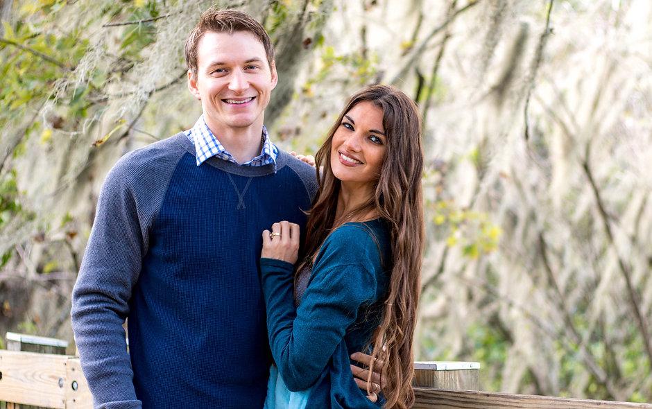 Joseph and Katie Warren Adam's Road Pic