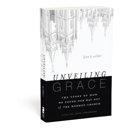 Unveiling Grace, book, Zondervan, Adam's Road, Mormonism