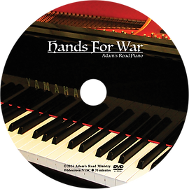 Adam's Road Hands for War CD Cover