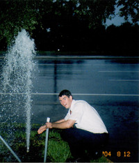 The infamous waterpipe disaster (August 2004)