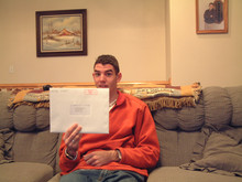 The day I opened my mission call (November 2003)