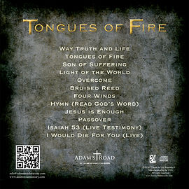 Tongues of Fire Album Back