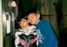 My brother Matt and me (1990)