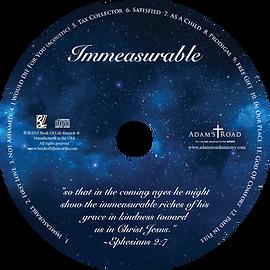 Immeasurable Album Disc Adam's Road