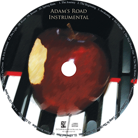 Adam's Road Instrumental CD Cover