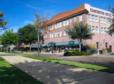 The Edgewater Hotel in downtown Winter Garden, Florida
