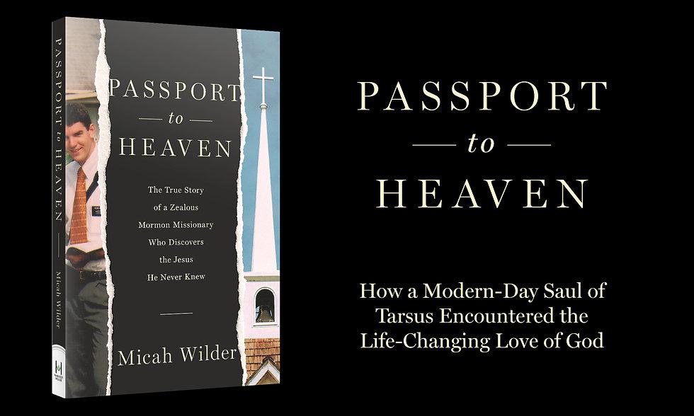 Passport to Heaven Book