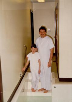 My Mormon baptism on my 8th birthday (January 1993)