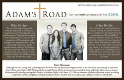 Adam's Road Postcard