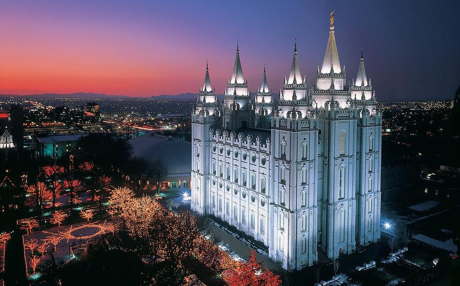Adam's Road Mormon Temple Pic