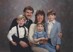 The Wilder family in Indiana (1987)