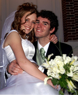 Alicia and my formal wedding ceremony (April 2006)
