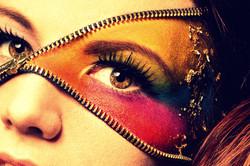Colorful Make-up/ Zip Make-up
