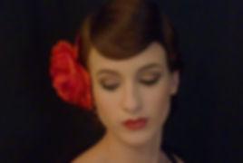 Sixties Styling mit Augen Make-up Banane und handgelegter Wasserwelle durch Lydia Geißler