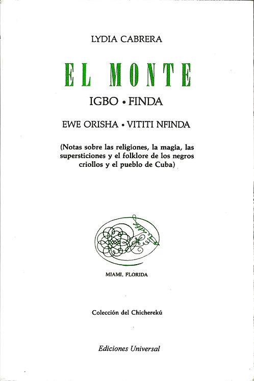 EL MONTE IGBO FINDA By Lydia Cabrera (Libro En Español)