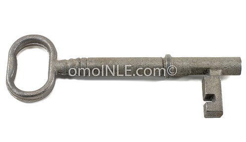 LLAVE MACHO DE HIERRO PARA OGGUN, OGUN MALE CAST IRON KEY