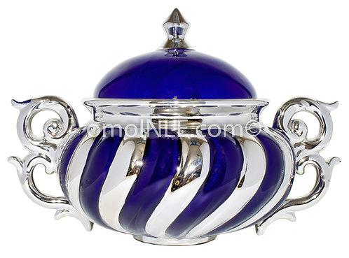 SOPERA AZUL DE YEMAYA GRANDE BLUE SOUP TUREEN BIG