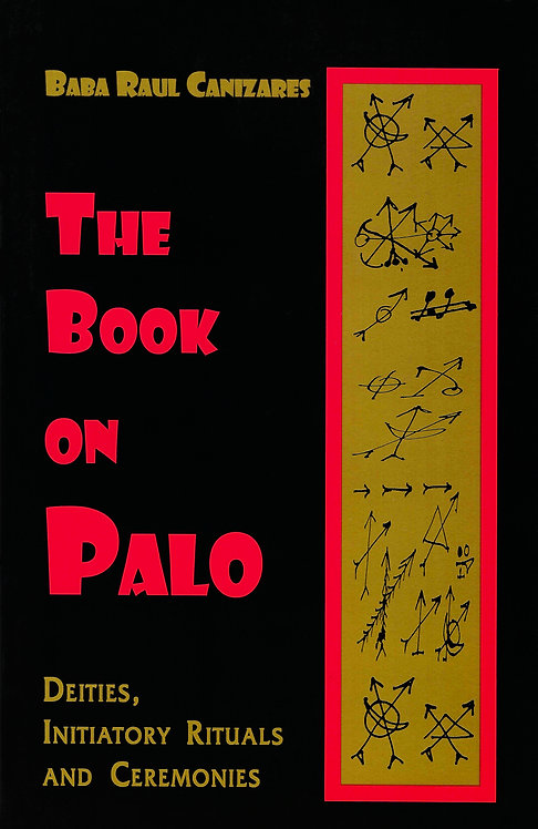 THE BOOK ON PALO by BABA RAUL CANIZARES ENGLISH BOOK