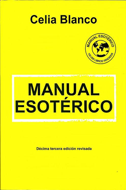 MANUAL ESOTERICO by Celia Blanco (Libro En Español)