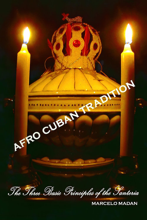 AFRO CUBAN TRADITION By Marcelo Madan (English Book)