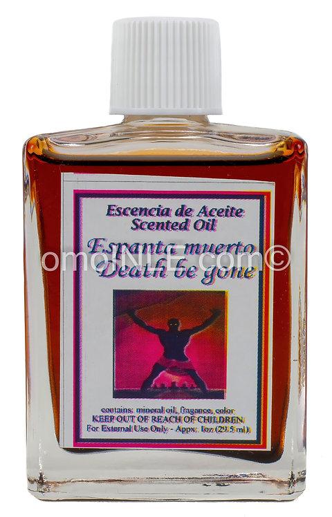 ACEITE DE ESPANTA MUERTO DEATH BE GONE OIL 1oz.