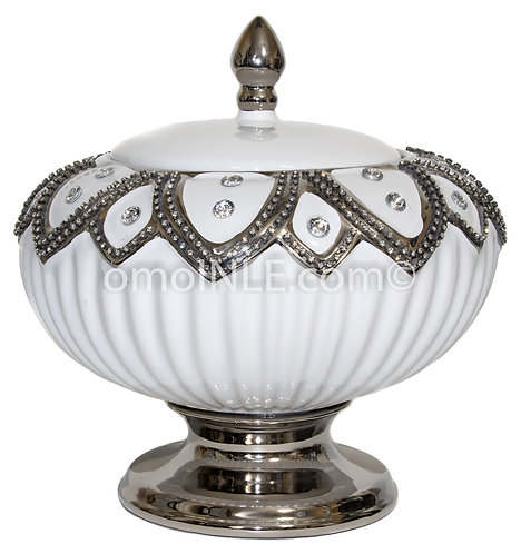 SOPERA BLANCA DE OBATALA WHITE SOUP TUREEN FOR OBBATALA LARGE SIZE
