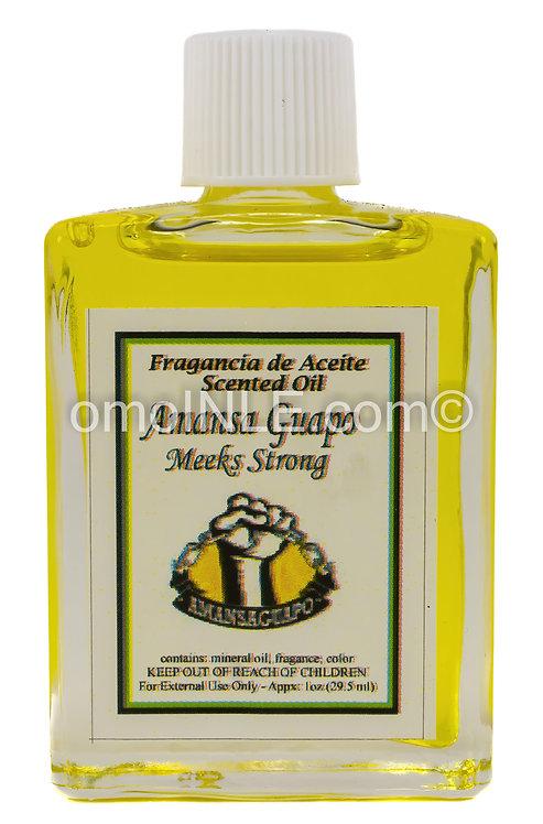 ACEITE DE AMANSA GUAPO MEEKS STRONG OIL 1oz.