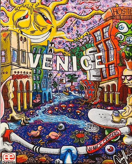 DUNKEES #Venice Canvas Print