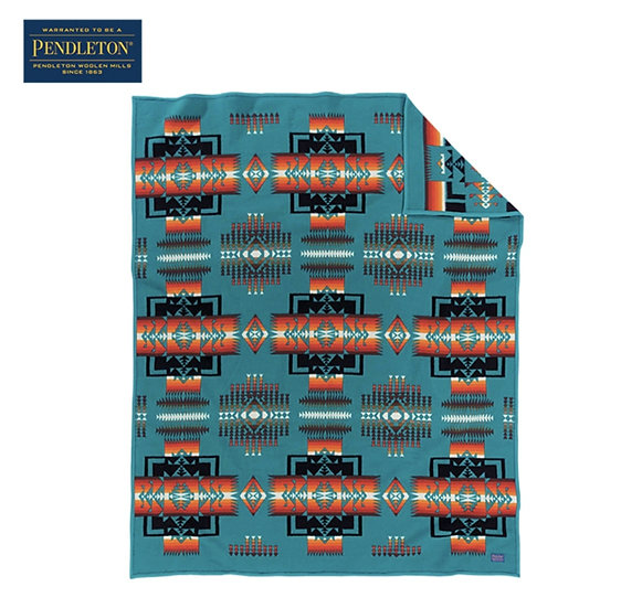 ペンドルトン チーフジョセフクリフブランケット ZD632(ターコイズ)