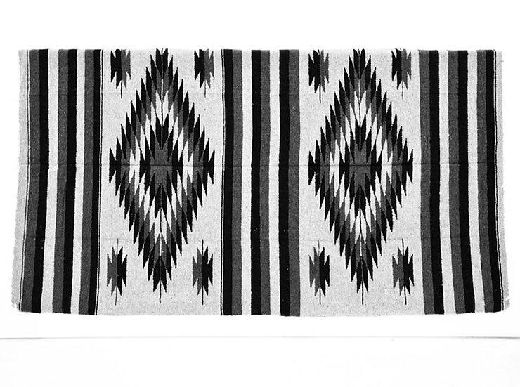 メキシカンブランケット(DoubleDiamante:GREY/BLACK/WHITE)