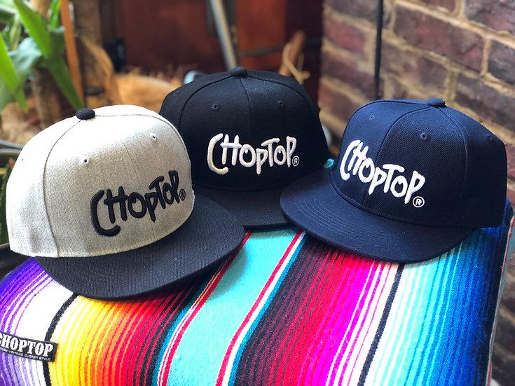 CHOPTOP 3D CAP #Black or Gray or Navy