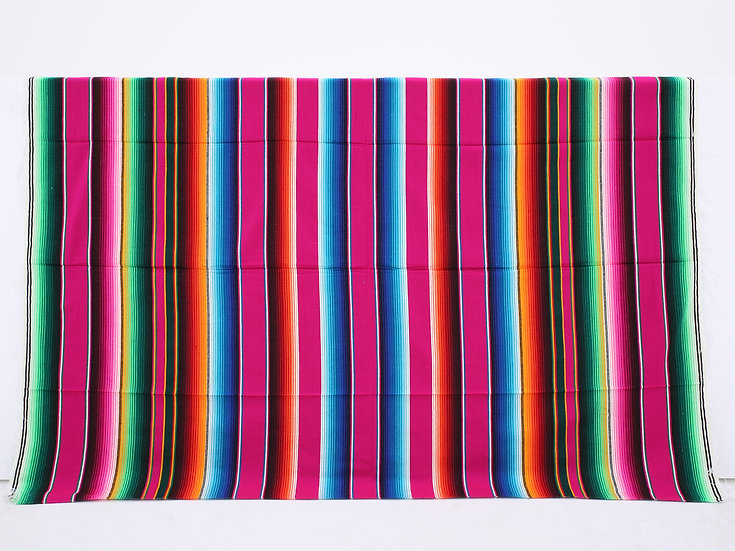 メキシカンブランケット(Saltillo Serape:PINK)