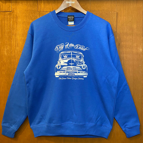 Day of the Dead Crew neck sweat #Black or Royal blue or Red