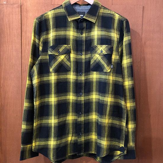 VANS #Flannel shirt/Yellow