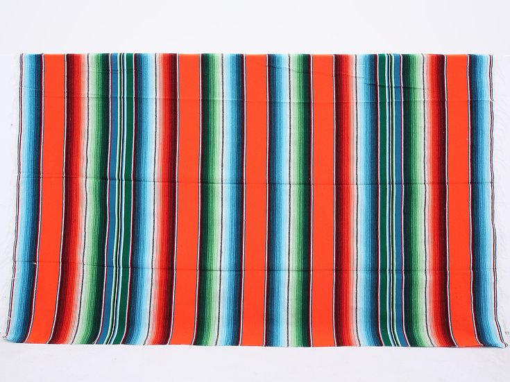 メキシカンブランケット(Saltillo Serape:ORANGE)
